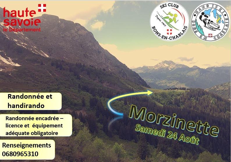 Morzinette - randonnée du ski club