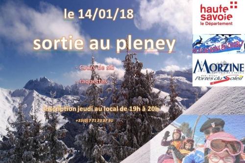 Sortie Morzine Le Pleney - 14 janvier 2018