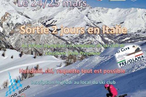 Sortie 2 jours Bardonecchia - 24/25 Mars 2018