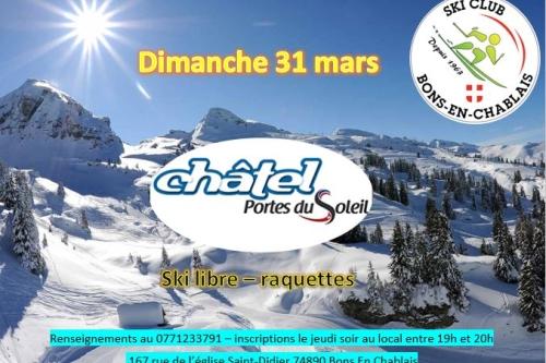 31 Mars - Chatel