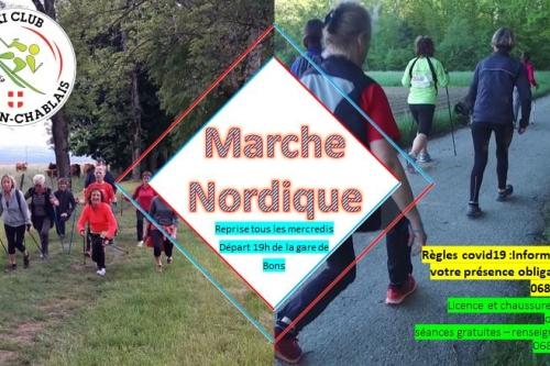 Reprise de Marche Nordique