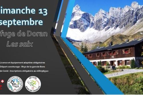 dimanche 12 septembre : rando au refuge de Doran