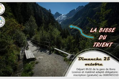 25 octobre :rando  dans le chablais suisse