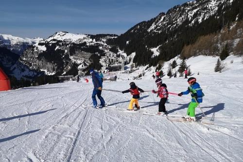 ski pour les licenciés mineurs du ski club