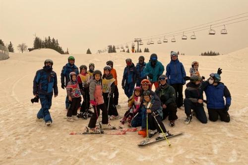 sortie ski mineurs à Morzine le 20/02