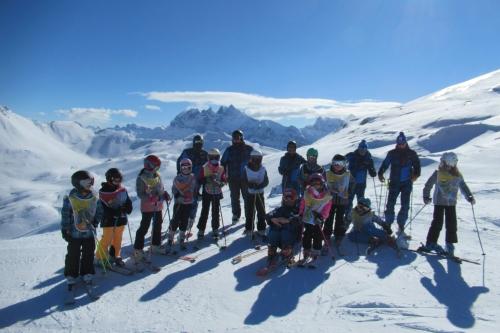 Ski jeune loisir mars et avril