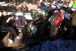 test de l'école de ski 2014 bis