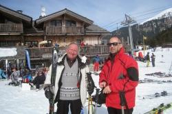 test de l'école de ski 2012